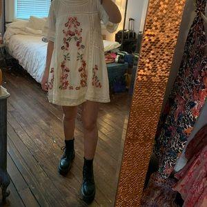 Free people romantic detailed dress